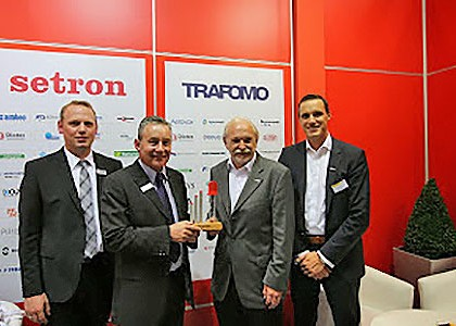 Setron honoured for the eleventh time as a Gold Distributor of the Year by Kingbright Electronic Europe