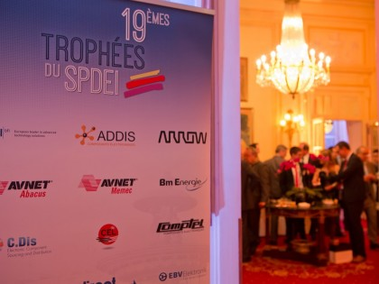 Kingbright awarded Best Optoelectronic supplier 2014 in France by SPDEI