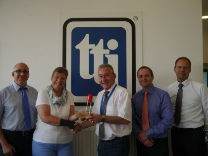 TTI earns Distributor Gold Award from Kingbright